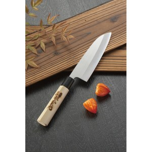堺實光 三徳包丁 金属洋食器 台所刃物 和包丁セット 65940(代引不可)