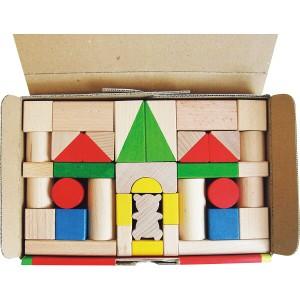 なし ウッドランドつみき47ピース なし ベビー 子供用品 子供用品 知育玩具 8314(代引不可)