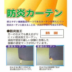 ユニベール遮光ドレープカーテン ニコラ ブラック 幅100×丈178cm 2枚組(代引不可)【送料無料】