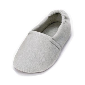 介護靴 室内用 エスパド 2004 両足 徳武産業 あゆみシリーズ / LL (24.0〜24.5cm) グレー