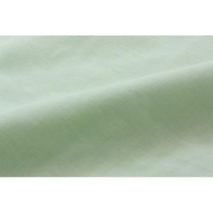 敷き布団カバー 無地 洗える リバーシブル 『リバS敷カバーIT』 グリーン/ライトグリーン 105×215cm シングルロング
