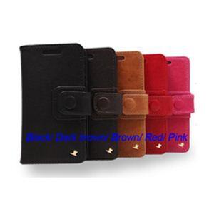 AEJEX 高級羊革スマートフォン用ケース D4シリーズ RED AS-AJD4-RD