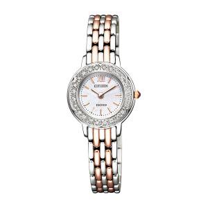 シチズン CITIZEN エクシード レディース 腕時計 EG7014-58W 国内正規【送料無料】