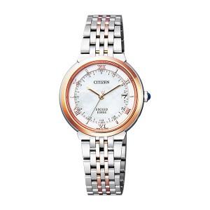 シチズン CITIZEN エクシード レディース 腕時計 ES1054-58W 国内正規【送料無料】
