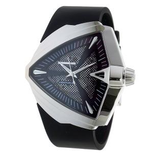 ハミルトン HAMILTON ベンチュラ XXL 自動巻き メンズ 腕時計 H24655331 ブラック【送料無料】