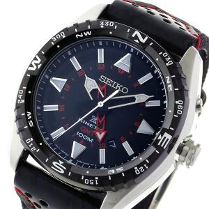 セイコー SEIKO キネティック クオーツ メンズ 腕時計 時計 SUN049P2 ブラック