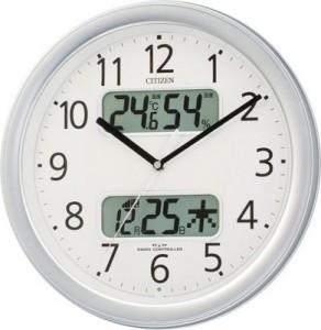 シチズン電波掛時計 4FYA01-006 4FYA01-019 【送料無料】(代引き不可)