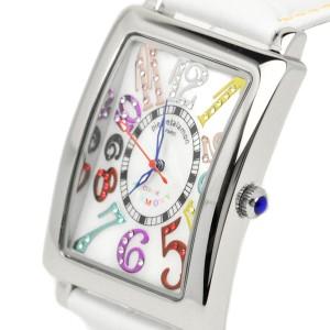 pierretalamon ピエールタラモン 腕時計 メンズウォッチ レクタンギュラー カラフルインデックス ジルコニアウォッチ セイコームーブ ホ