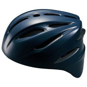 ZETT(ゼット) BHL400 硬式捕手用ヘルメット ネイビー M(54〜57cm)【送料無料】