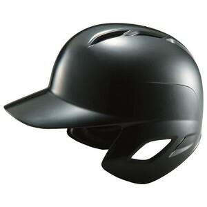 ZETT(ゼット) BHL370 軟式打者用ヘルメット ブラック O(59〜61cm)【送料無料】