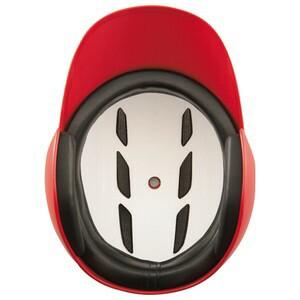 ZETT(ゼット) BHL570 ソフトボール打者用ヘルメット レッド M(55〜57cm)