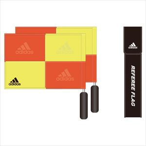 adidas アディダス サッカー レフェリーフラッグ 審判用 JH399 V09357