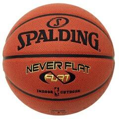 SPALDING スポルティング ネバーフラット 7号 バスケットボール 74-445J
