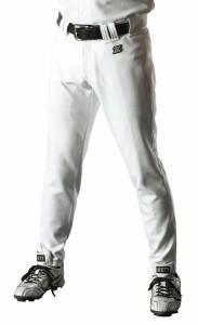 ZETT(ゼット) 野球 ユニフォームロングパンツ BU1072LPA 1100 ホワイト L【送料無料】