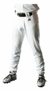 ZETT(ゼット) 野球 ユニフォームアメリカンロングパンツ BU1072ALA 1100 ホワイト O7