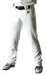ZETT(ゼット) 野球 ユニフォームストレートパンツ BU1072STA 1100 ホワイト XO