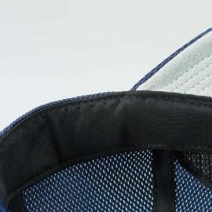 ZETT 角型ダブルメッシュキャップ(六方) BH132   ネイビー 2900 サイズ JFREE (53〜56cm)
