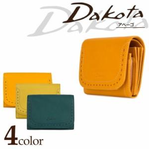 ダコタ Dakota 二つ折り財布 0035270 アペーゴ 【 スナップボタン式 札入れ レディース レザー 】【 ミニ財布 極小財布 】