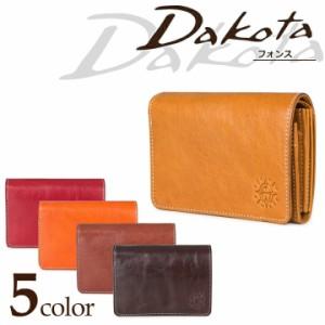 ダコタ Dakota 二つ折り財布 35891 フォンス 【 二つ折財布 札入れ 小銭入れ レザー レディース 】