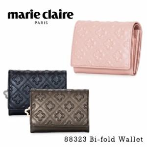 マリクレール marie claire 二つ折り財布 88323 シュプール L字ファスナー 二つ折り 財布 レディース レザー