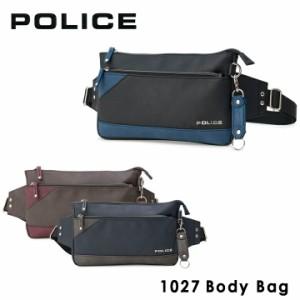 ポリス POLICE ボディバッグ PA62001 (1027) URBANO アルバーノ ワンショルダー ショルダーバッグ メンズ