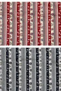 長袖ウエスタンシャツ 変わり縞 衣櫻 和柄 和風 送料無料 日本製 国産 SA1150[mij_m][mij]