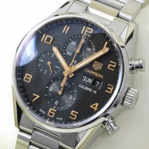 タグ・ホイヤー TAG Heuer カレラ クロノグラフ メンズ CV2A1AB.BA0738  ブラック 時計/ウォッチ