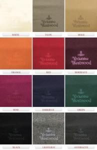 ヴィヴィアンウエストウッド Vivienne Westwood 同色刺繍マフラー ケース付 81030007 10081 FP ◇