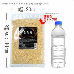 もち麦 1kg (500g×2) カナダ産 館のもち麦ダイエット βグルカン 大麦 送料無料 ごはん 雑穀 モチムギ もちむぎ