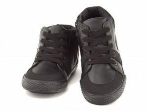 リー 男の子 キッズ 子供靴 ハイカット スニーカー ブーツ ミルウォーキーシック 限定モデル MILWAUKEE CHIC Lee 409 ブラック