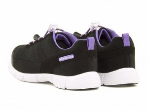 ジェニュインデッキーズ 女の子 キッズ 子供靴 通学靴 運動靴 スニーカー ドローコード 軽量 GENUINE Dickies 628002 ブラック