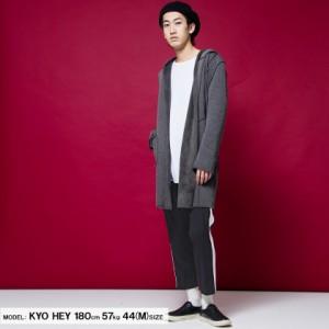 VICCI ビッチ サイドライン トラウザー パンツ 全2色 クロップド メンズ サイドライン 細身 タイト 七分丈 アンクル ストリート bq