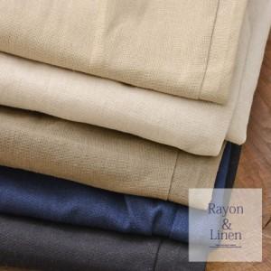 VICCI ビッチ 麻 レーヨン クロップドパンツ 全5色 即日配送 メンズ アンクル クロップド ベージュ ブラック カーキ キナリ ネイビー