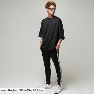 VICCI ビッチ ビッグシルエット クルーネック 5分袖 Tシャツ 全6色 即日配送 メンズ 五分袖 オーバーサイズ 大きめ ゆったり 無地 M L