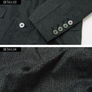 VICCI ビッチ ストレッチ クールドット テーラード ジャケット 全2色 即日配送 メンズ 夏 薄手 ブラック ホワイト 白 黒 軽量 無地 速乾