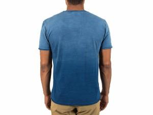 グラミチ:【メンズ】インディゴクルーネックTシャツ【GRAMICCI カジュアル 半袖シャツ】