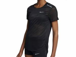 ナイキ:【レディース】ブリーズ S/S トップ【NIKE スポーツ フィットネス 半袖 Tシャツ】