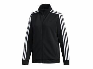 アディダス:【レディース】MH 3ストライプスウォームアップジャケット【adidas スポーツ フィットネス フルジップ ジャケット】
