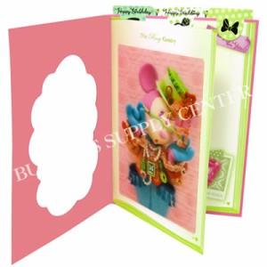 【メール便可能】DAIGO(ダイゴー) 3Dグリーティングカード ディズニー The Rosy Gentry/ミニーマウス S2414