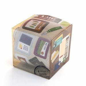 コクヨのえほん Arts&Craftsシリーズ スクラップアルバム用シールボックス(Bitter) KE-AC19-1