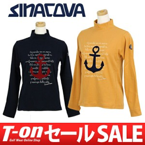 【30%OFFセール】ハイネックシャツ レディース シナコバ SINA COVA ゴルフウェア