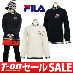 【20%OFFセール】セーター レディース フィラ ゴルフ FILA GOLF2017 秋冬 ゴルフウェア