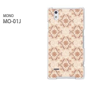 DM便送料無料スマホケース ハード MONO MO-01Jクリア 【レトロ010/mo01j-PM010】