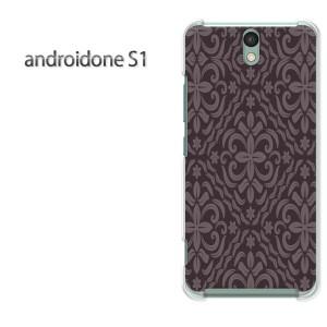 ゆうパケ送料無料スマホケース ハード android One S1 クリア [シンプル(黒・紫)/androidones1-pc-new0128]