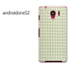ゆうパケ送料無料スマホケース ハード android One S2 クリア [シンプル(グリーン)/androidones2-pc-new0280]