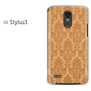 ゆうパケ送料無料スマホケース ハード LG Stylus3 クリア シンプル(ブラウン)/stylus3-pc-new0289]