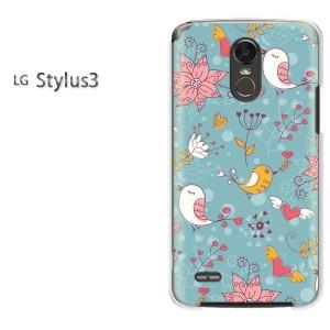 ゆうパケ送料無料スマホケース ハード LG Stylus3 クリア 【レトロ108/stylus3-PM108】