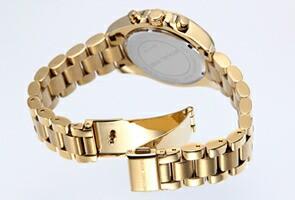 マイケルコース 腕時計 レディース ブラッドショー クロノグラフ ミニ ゴールド MK5798