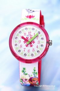 スウォッチ 腕時計 SWATCH FlikFlak(フリックフラック) ZFLNP019 DISNEY FROZEN ディズニー・アナと雪の女王