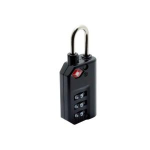 ミヨシ TSAロック インジケータ機能付き3ダイヤルタイプ MBZ-TI3/BK